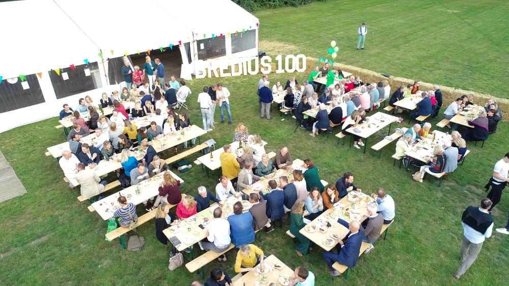 Bredius 100: één groot feest voor alle bewoners!